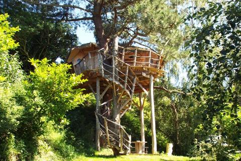 Cabane dans les arbres - Camping Le Cap de Bréhat