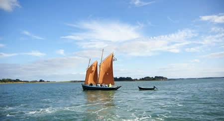 Bord de mer et paysages sauvages de la Bretagne Sud dans le Morbihan