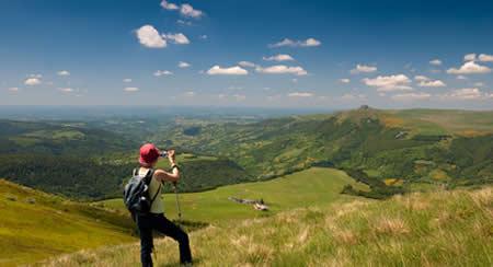 Au cœur du parc naturel régional des volcans d'Auvergne