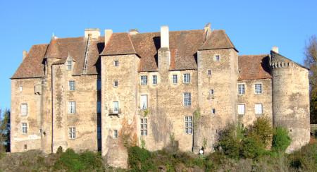 Le château de Boussac