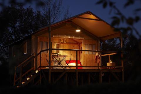 Ecolodge au Camping La Rochelambert