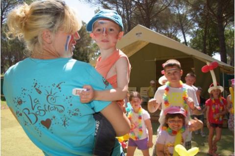 Camping avec Club Enfant - La Bastiane   Puget-sur-Argent