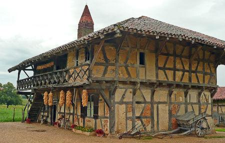 Ferme-musée de Saint-Trivier-de-Courtes, en Bresse de l'Ain