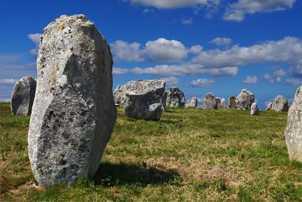 Les mythiques mégalithes de Carnac