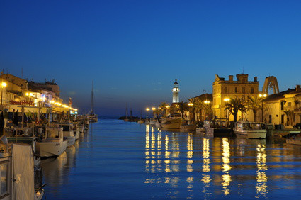Le port du Grau du Roi la nuit