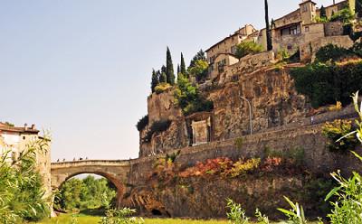 Le pont romain sur l'Ouvèze à Vaison-la-Romaine
